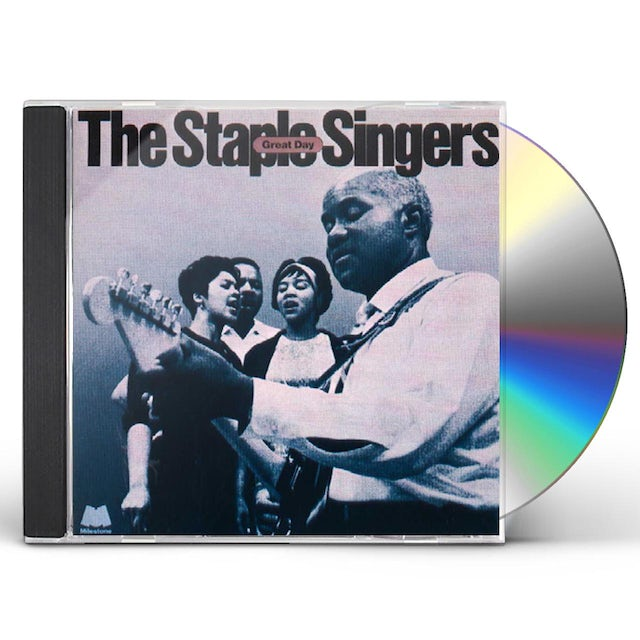 The Staple Singers GREAT DAY CD