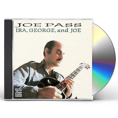 JOE PASS LOVES GERSHWIN: IRA GEORGE & JOE CD