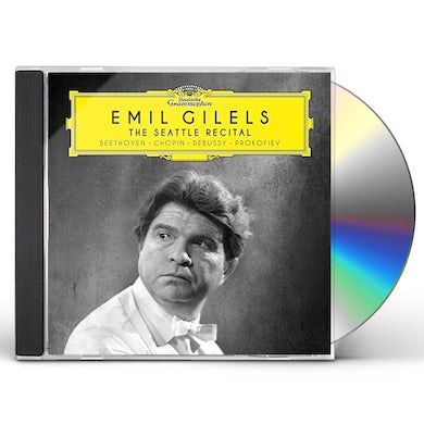Emil Gilels SEATTLE RECITAL (BEETHOVEN / CHOPIN / DEBUSSY) CD