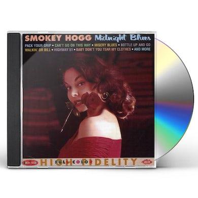 Smokey Hogg MIDNIGHT BLUES CD