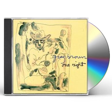 Greg Brown ONE NIGHT CD
