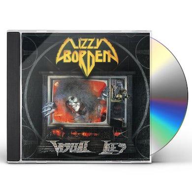 Lizzy Borden VISUAL LIES CD