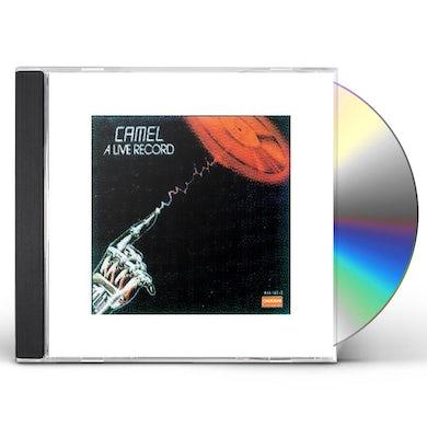 Camel LIVE RECORD - ENGLAND CD