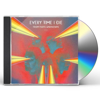 Every Time I Die FROM PARTS UNKNOWN CD