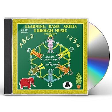Hap Palmer LEARNING BASIC SKILLS THROUGH MUSIC - VOL. 4 CD
