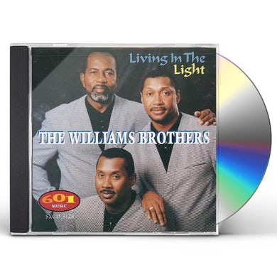 Williams Brothers LIVING IN THE LIGHT CD