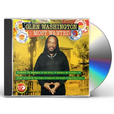 Glen Washington MOST WANTED CD