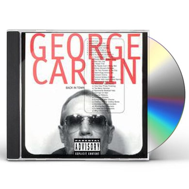 George Carlin BACK IN TOWN CD