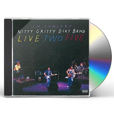 Nitty Gritty Dirt Band LIVE 25 ANNIVERSARY PACKAGE CD
