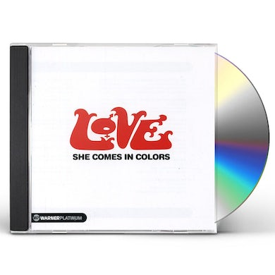 Love SHE COMES IN COLORS: THE PLATINUM COLLECTION CD