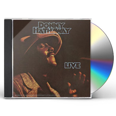 Donny Hathaway LIVE CD