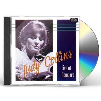 Judy Collins LIVE AT NEWPORT CD