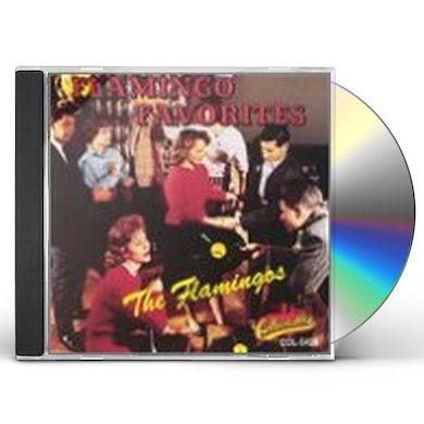Flamingos FLAMINGO FAVORITES CD