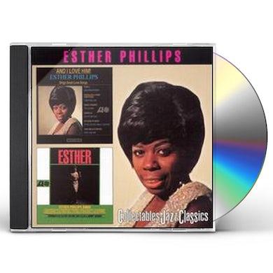 Esther Phillips I LOVE HIM / ESTHER CD