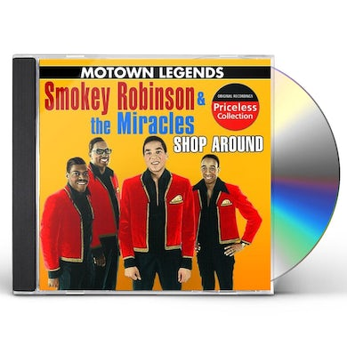 Smokey Robinson & The Miracles MOTOWN LEGENDS: I SECOND THAT EMOTION CD