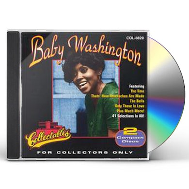 Baby Washington FOR COLLECTORS ONLY CD