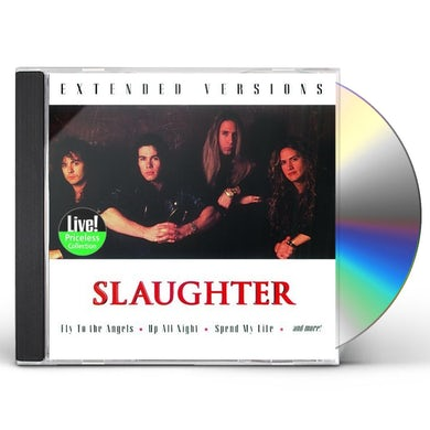 Slaughter EXTENDED VERSIONS CD