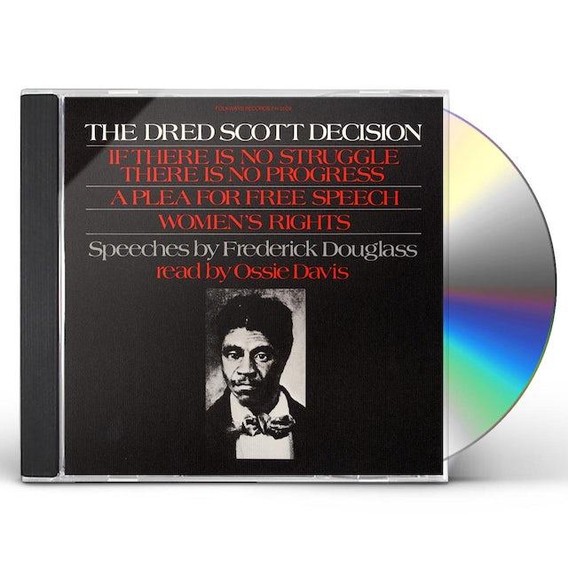 Ossie Davis FREDERICK DOUGLASS' SPEECHES DRED SCOTT DECISION CD