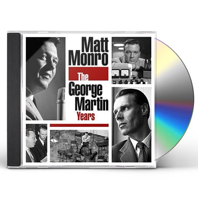 Matt Monro GEORGE MARTIN YEARS CD