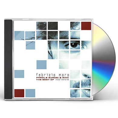 Fabrizio Moro PAROLE RUMORI ANNI THE BEST OF 2007/2018 CD