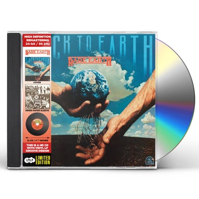 Rare Earth BACK TO EARTH CD