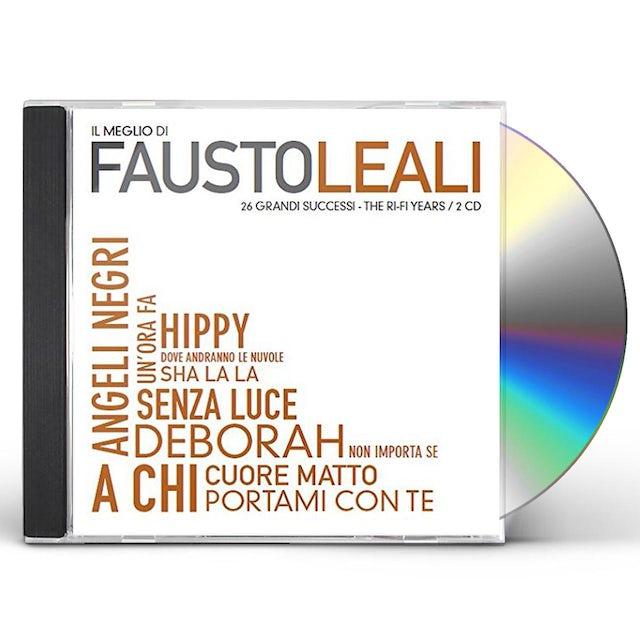 IL MEGLIO DI FAUSTO LEALI CD