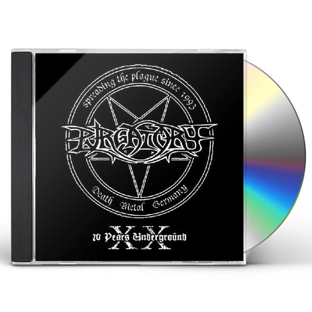 Purgatory 20 YEARS UNDERGROUND CD