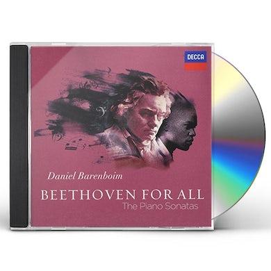 Daniel Barenboim BEETHOVEN FOR ALL PIANO SONATAS CD