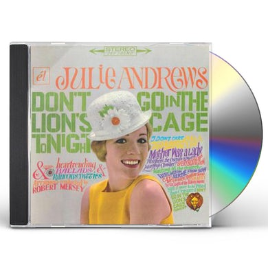 Julie Andrews DON'T GO IN THE LION'S CAGE TONIGHT / BROADWAY'S CD