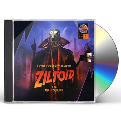 Devin Townsend Project ZILTOID THE OMNISCIENT CD