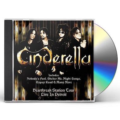 Cinderella LIVE IN DETROIT CD