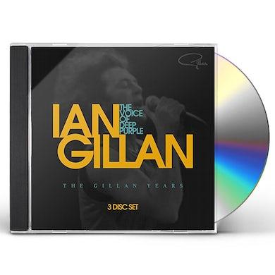 Ian Gillan VOICE OF DEEP PURPLE: THE GILLAN YEARS CD