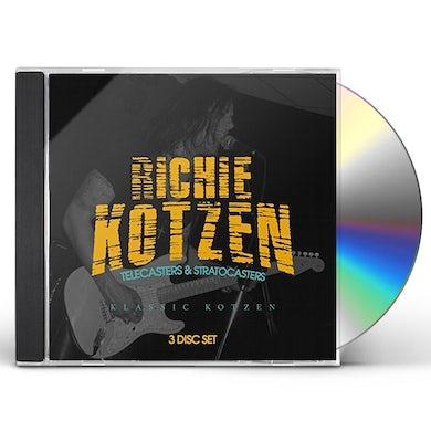 Richie Kotzen TELECASTERS & STRATOCASTERS: KLASSIC KOTZEN CD