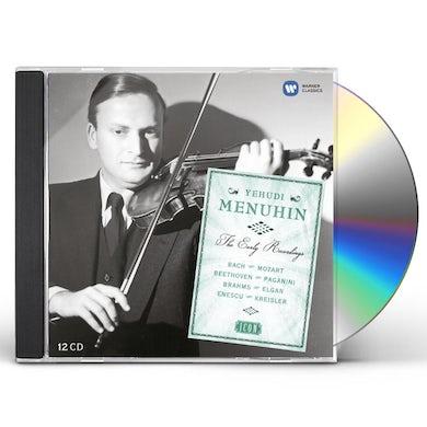 Yehudi Menuhin EARLY YEARS CD