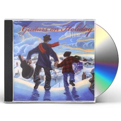 Don Latarski GUITARS ON HOLIDAY CD