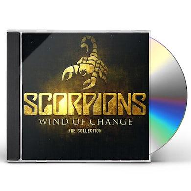 Scorpions WIND OF CHANGE: BEST OF CD
