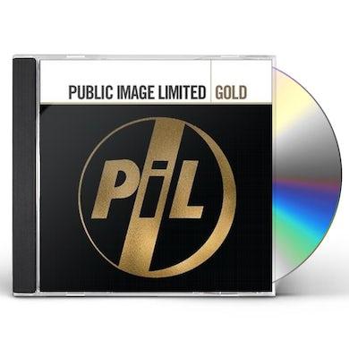 Public Image Ltd GOLD CD