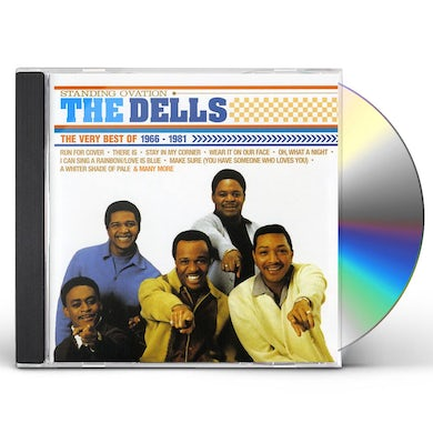 STANDING OVATION: VERY BEST OF THE DELLS CD
