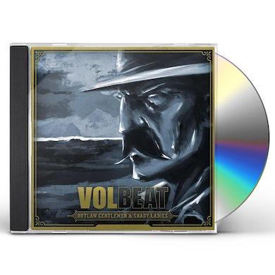 Volbeat OUTLAW GENTLEMEN & SHADY LADIES CD