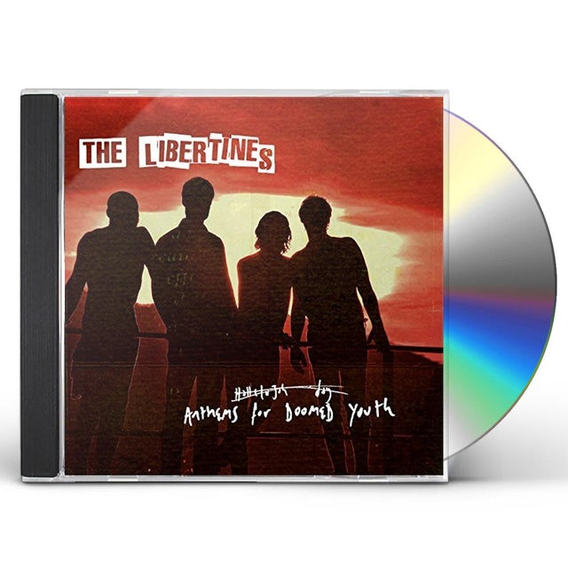 The Libertines ANTHEMS FOR DOOMED YOUTH CD
