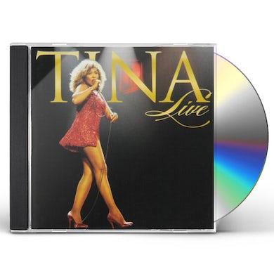 Tina Turner TINA LIVE CD