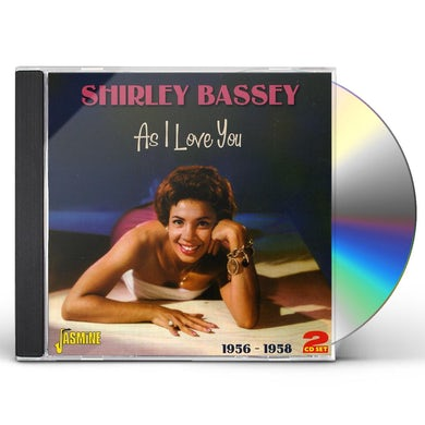 Shirley Bassey AS I LOVE YOU 1956-58 CD