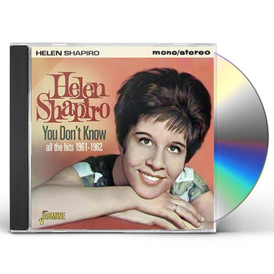 Helen Shapiro YOU DON'T KNOW: ALL THE HITS 1961-62 CD