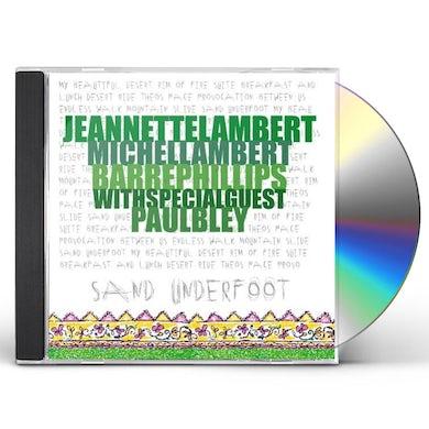 Jeannette Lambert SAND UNDERFOOT CD