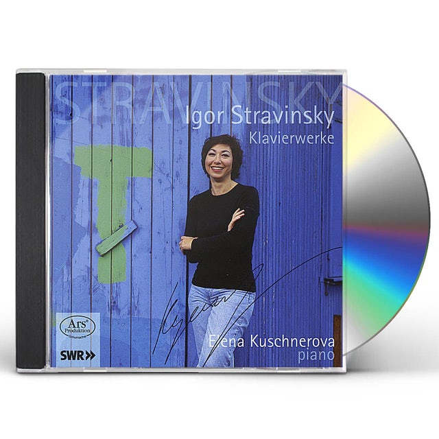 Elena Kuschnerova IGOR STRAVINSKY CD