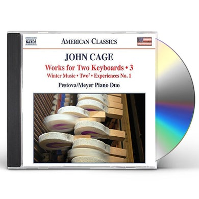 Cage WORKS FOR TWO KEYBOARDS 3 CD