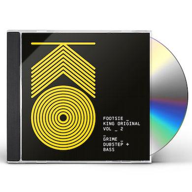 Footsie KING ORIGINAL 2: GRIME DUBSTEP & BASS CD
