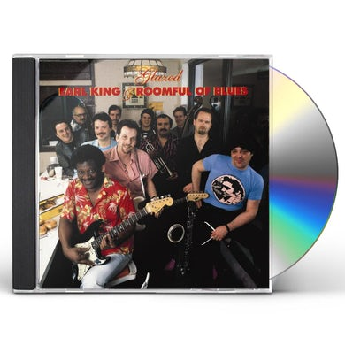 Earl King & Roomful Of Blues GLAZED CD