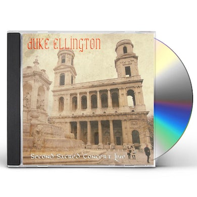 Duke Ellington SECOND SACRED CONCERT LIVE CD