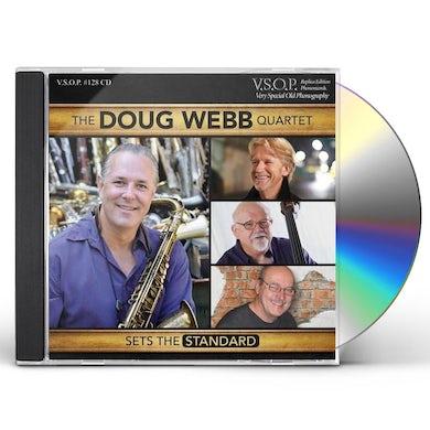 Doug Webb QUARTET - SETS THE STANDARD CD